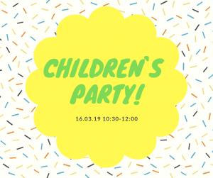 Дитяче свято! 16 березня