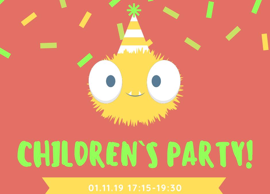 Дитяче свято! 1 листопада